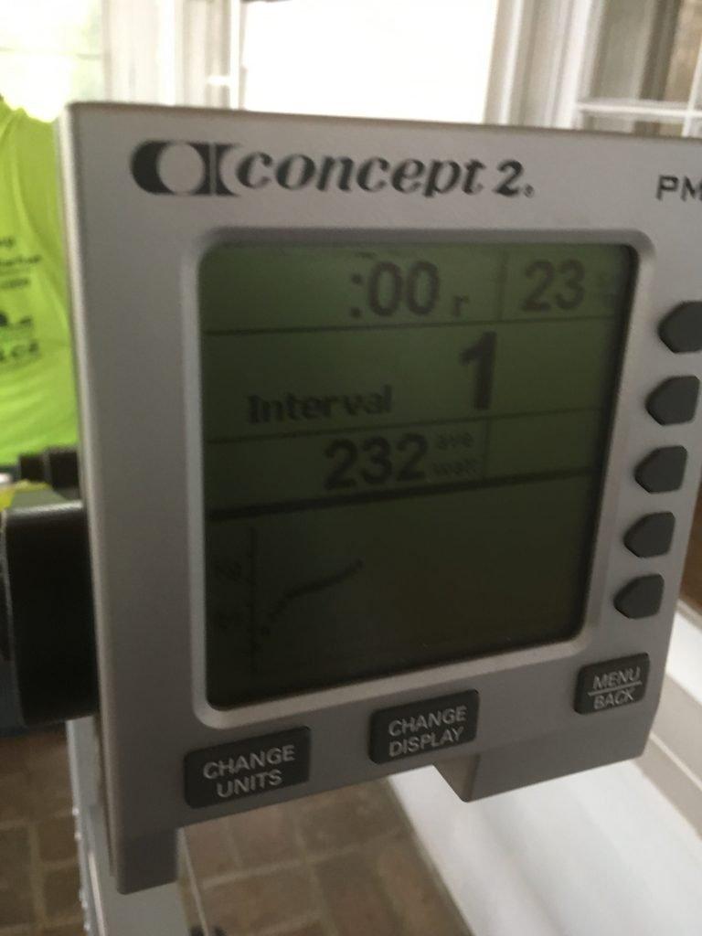 concept 2 indoor rower monitor PM4, frozen, ergometer trouble