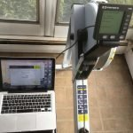 Concept2 monitor diagnostic test