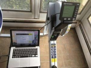 Concept2 monitor diagnostic test