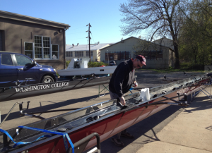 cleaning a rowing shell, rowing shell care and maintenance