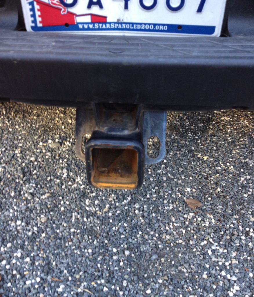 shell trailer hitch gone!