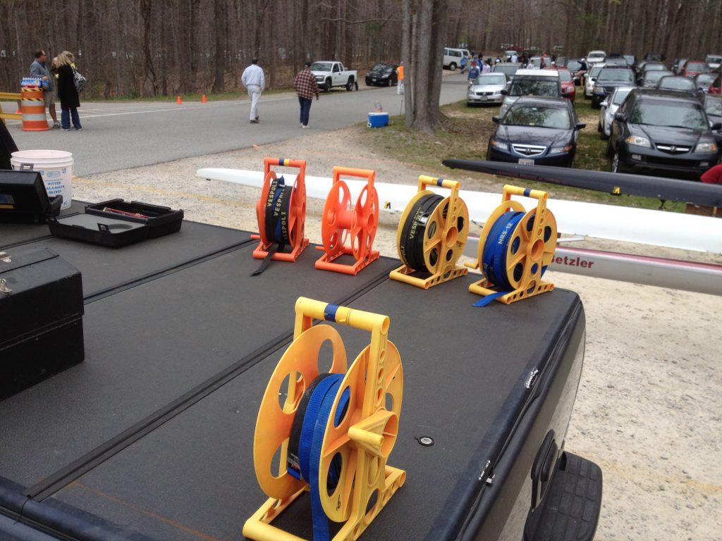 rowing strap storage